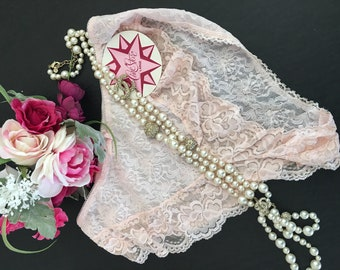L/Cine Star/Pink/Lace/Panties/Old Stock New With Tags
