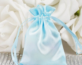 Satin Party Favor Pouches Bag - 1 dozen