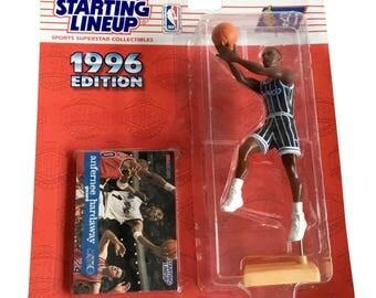 NBA Starting Lineup SLU Anfernee Hardaway Action Figure Orlando Magic 1996