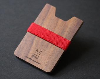 wood wallet minimalist wallet groomsmen gift for him mens wallet slim wallet money clip wallet womens wallet card wallet thin wallet wooden