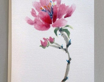 Lotus - Greeting, Note and Gift Card sizes