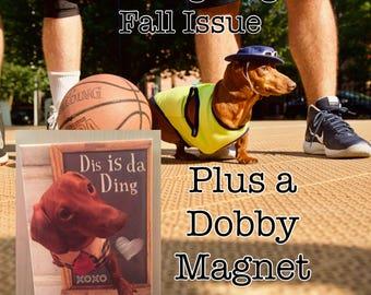 Modern Dog Magazine & Dobby Magnet