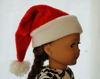 "Doll Santa Hat 18"" Doll American Girl"