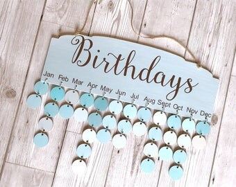 Birthday Reminder Board. Special Days. Alternative calendar. Mother's Day gift