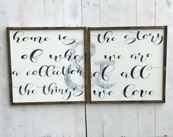 Farmhouse Sign | Farmhouse Decor | Master Bedroom Sign | Love Quote Sign | Bedroom Decor | Cottage Style Sign