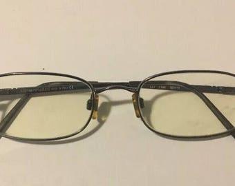 Giorgio Armani Men's Eyeglasses GA 135 50 19 177 1144 Made Italy Gunmetal  Frame