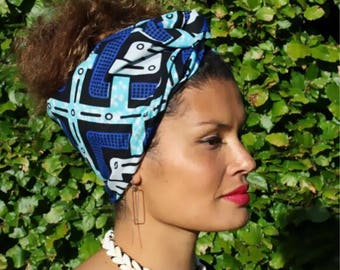 MY TRIBE headwrap 'Sky Colors'