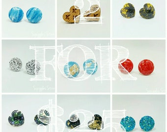 2 Pairs of Hypoallergenic Titanium Stud Earrings for 25 Dollars plus FREE STANDARD SHIPPING