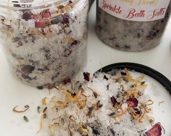 Sprinkle Bath Salts {Soothing Floral}