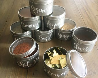 Kitchen Canister Decals, Kitchen Jar Decals, Kitchen Decals, Kitchen Labels, Canister Labels, Jar Labels, Kitchen Jar Labels, Kitchen