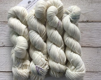 Hand Dyed Yarn - Indie Dyed Yarn - SW Sock - Cool Mint
