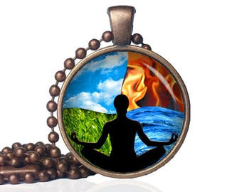 Harmony of Elements - Four Elements Balance - Nature Gift - Harmony - Earth Day Gift - Four Elements Gift - Nature Lover Gift - Earth Day