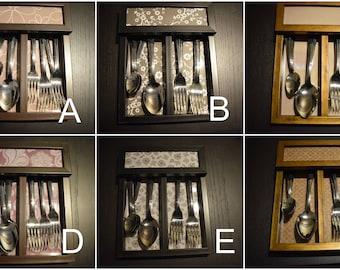 Beautiful Handmade Cutlery Boxes