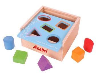 Personalised Shape Box