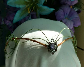 Woodland Crown-  elvin- fairy- tiara- crown