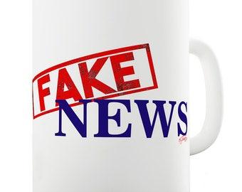 Fake News Ceramic Funny Mug