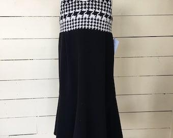 Size 5 girls upcycled dress.
