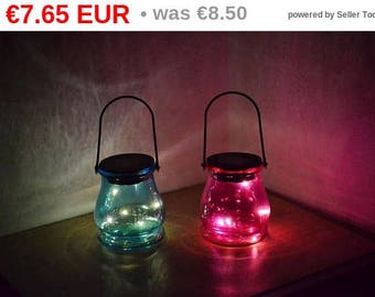 10%OFF Solar led lanterns in two colors / solar lights / solar lid lights / solar garden lights / solar lantern