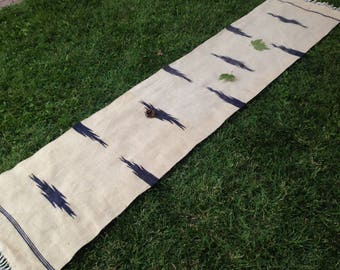 Turkish Rug - Kilim Rug - Area Rug - Handmade Rug - Vintage Rug - Rug - Carpet - Anatolian Rug - Decorative Rug//265 x 57 cm = 8,6 x 1,8 ft