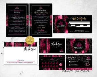 Paparazzi Business Card, Paparazzi Bundle, Paparazzi Marketing Branding Kit, Paparazzi Jewelry