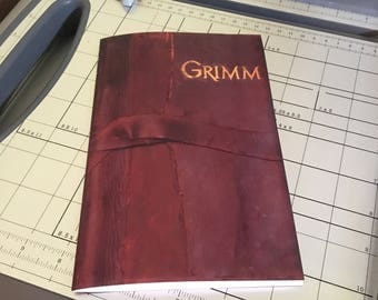 INSTANT DOWNLOAD Grimm Book DIY Notebook Printable Download