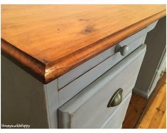 Vintage Solid Wood Desk