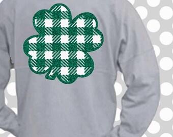 St Patrick's day svg, Shamrock monogram svg, plaid svg, SVG, DXF, EPS, shamrock, cut file, arrow svg, monogram files,  popular svg, png