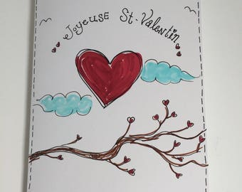 Greeting card - happy Valentine