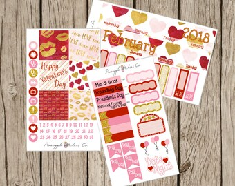 February Monthly kit Happy Planner