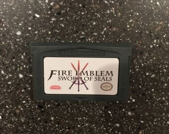 Fire Emblem Sword Of Seals Gameboy Advance GBA DS RPG Game Nintendo