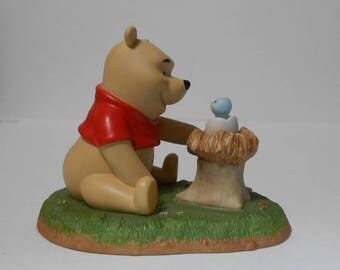 Pooh & friends - Welcome little one (Porcelain figurine)