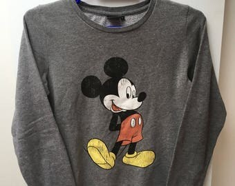 Vintage Mickey Mouse Disney mixed S Sweatshirt