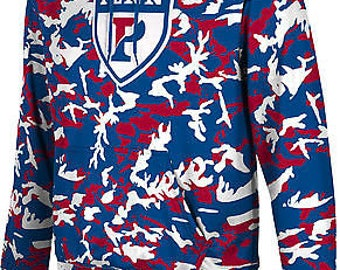 ProSphere Men's University of Pennsylvania Camo Pullover Hoodie (UP)