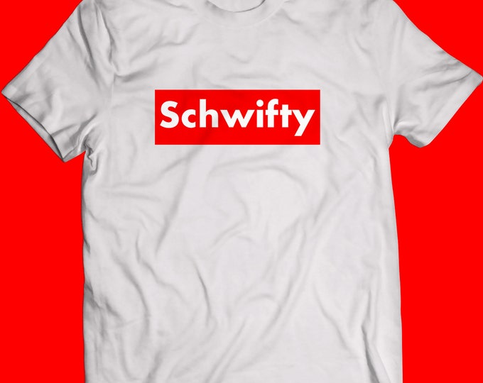 Featured listing image: Schwifty x Supreme Tee Shirt