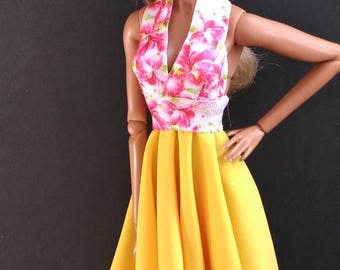 12 inch fashion doll dress one size fits all!