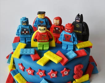 Batman cake topper Etsy