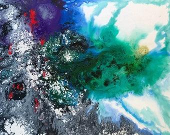 """Jiang Lin 088  abstract 30x60"""""""