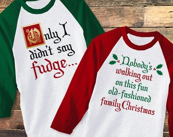 Funny Christmas Movie Quotes SVG File Cutting Template Set