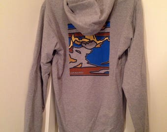 Patagonia Grey Hoodie! Brand new with tags! Worn once. Organic Cotton