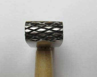 Hammer textured for non-ferrous metals