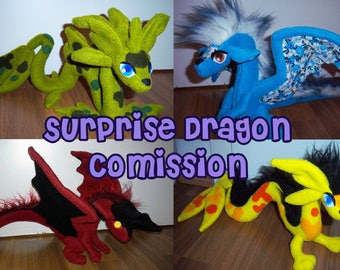 Surprise Dragon Plush Comission