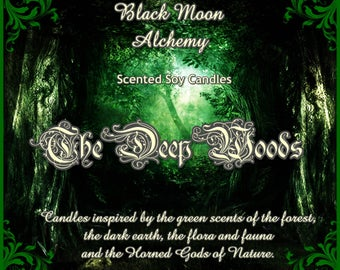 The Deep Woods Scented Soy Candle - CERNUNNOS