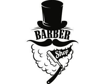 Barber shop clip art | Etsy