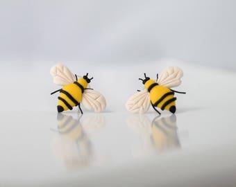 Bee - designer lightweight earrings