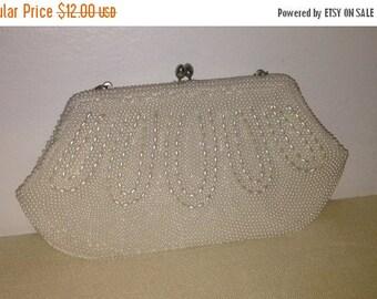 On Sale Beautiful Vintage Beaded Handbag