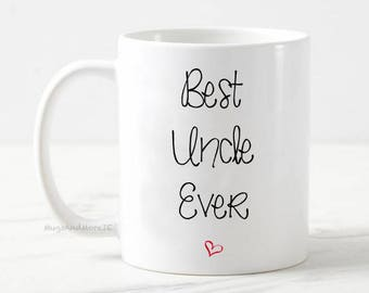 Best Uncle mug, best uncle mug, best uncle gift, baby reveal, pregnancy announcement mug, gift for uncle, uncle coffee mug, best uncle mug