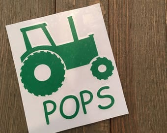Customizable Tractor decal