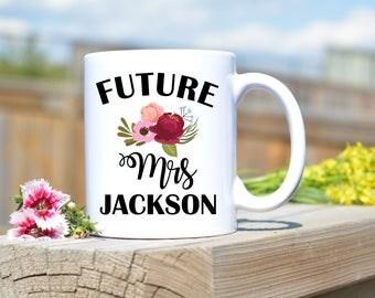 Future mrs mug,bride to be mug,mug for future mrs,mug for bride to be,engagement mug,engagement gift idea,wedding mug,wedding gift idea