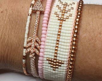 tribal arrow bracelet, boho bracelet, tribal jewelry