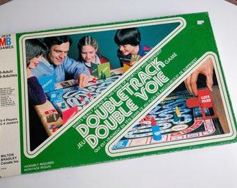 Doubletrack - A Milton Bradley Board Game (1981)